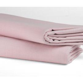 "81""x108"" - T180 Full Flat Color Sheets - Thomaston Mill-Rose"