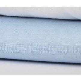 "81""x108"" - T180 Full Flat Color Sheets - Thomaston Mill-Blue"