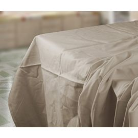 81x115-T180 Bone Full XL Flat Sheet - Thomaston