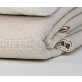 54x80x12-T250 Bone Full Deep Pocket Fitted Sheet - Thomaston