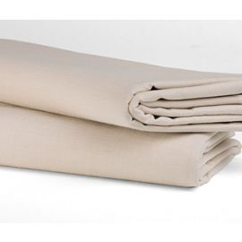 81x108-T200 Bone Full Flat Sheet - Thomaston