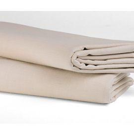 90x115-T180 Bone Queen XL Flat Sheet - Thomaston
