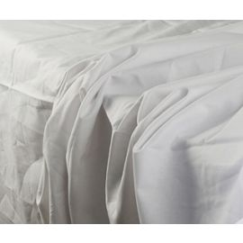 54x80x12-T180 White Full Deep Pocket Fitted Sheet - Thomaston