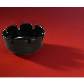 Ashtray Plastic - Round