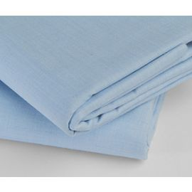 60x80x9-T180 Blue Queen Fitted Sheet - Thomaston