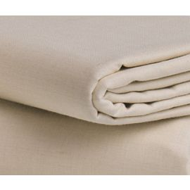 92x115-T250 Bone Queen XXL Flat Sheet - Thomaston