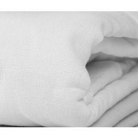 85x120-T300 White Full XXL Flat Sheet - Thomaston