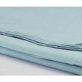 90x110-T180 Seafoam Queen Flat Sheet - Thomaston
