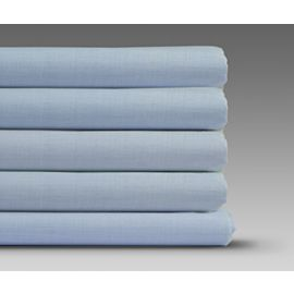 78x80x9-T180 Blue King Fitted Sheet - Thomaston