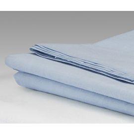 108x110-T180 Blue King Flat Sheet - Thomaston