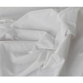 81x120-T180 White Full XXL Flat Sheet - Thomaston