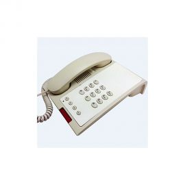 Single line Guest Room Phone [No Speaker] Ivory