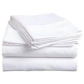 81x120-T200 White Full XXL Flat Sheet - Thomaston