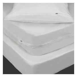 60x80x9-T200 White Queen Fitted Sheet - Thomaston