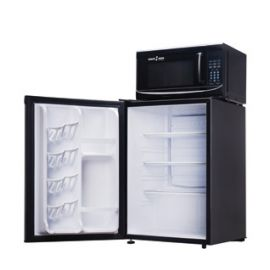 Microfridge Snack Mate Combo 2.6 cu.ft - Black