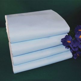 78x80x12-T180 Blue King Deep Pocket Fitted Sheet - Thomaston