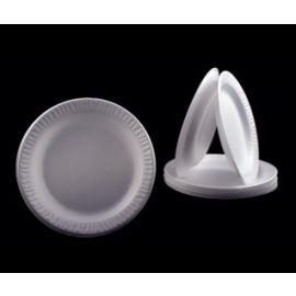 "Plate Styrofoam - 9"""