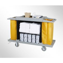 Economy Ramayan House Keeping Cart Full Size Item 3 shelves