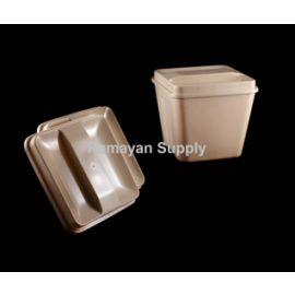 Ice Bucket Lids Square - Beige