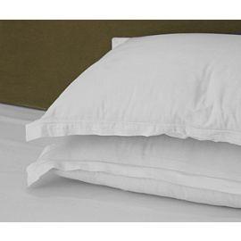 42x40-T300 White Queen Pillow Case - Thomaston