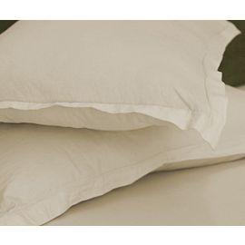 42x36-T200 Standard Bone Pillow Case - Thomaston
