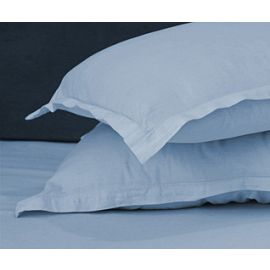 42x36-T180 Blue Standard Pillow Case - Thomaston