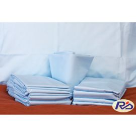 66x104-T180 White Twin Flat Sheet - Thomaston