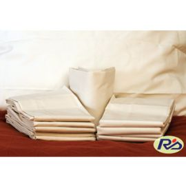39x80x12 - T180 White Twin X-Deep Pocket Fitted Sheet - Thomaston