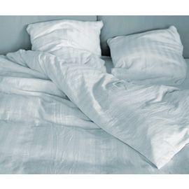 42x40-T310 White Queen Stripe Pillow Case - Thomaston