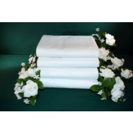54x80x15-T200 White Full X-Deep Pocket Fitted Sheet - Thomaston
