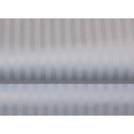 60x80x15-T310 White 19mm Stripe Queen X-Deep Pocket Fitted Sheet - Thomaston