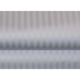 78x80x15-T310 White 19mm Stripe King-Deep Pocket Fitted Sheet - Thomaston