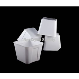 3qt Ice Bucket Square - White