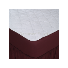 Mattress Pad Fitted Waterproof - King