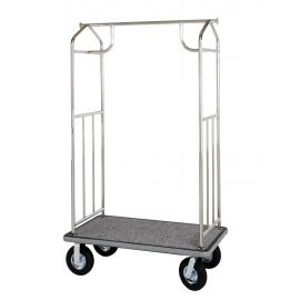 Bellmen's Cart - Chrome Plated Finish
